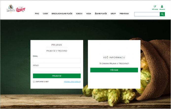Heineken's Lasko Website