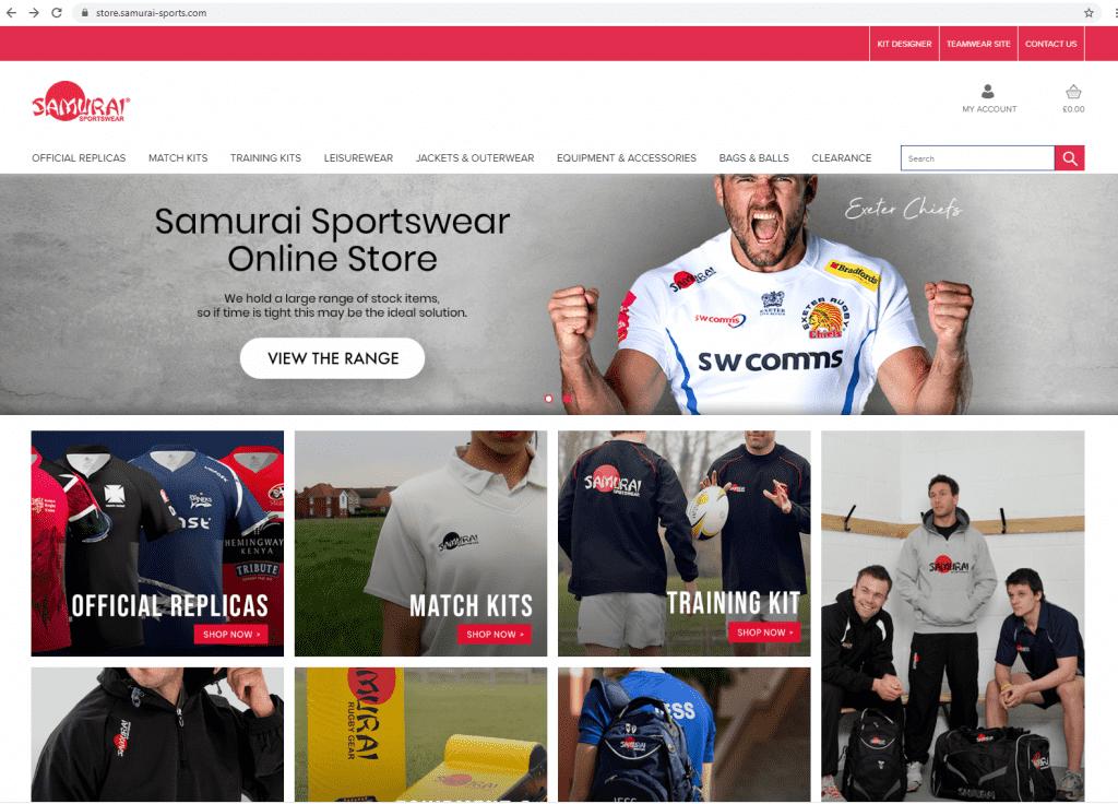 Samuria online clothing store