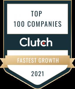 Clutch 100 Award