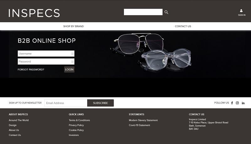 Inspecs Homepage