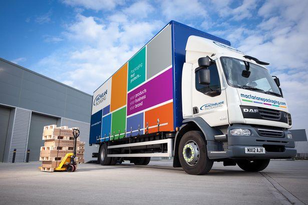 Marcarlane packaging truck