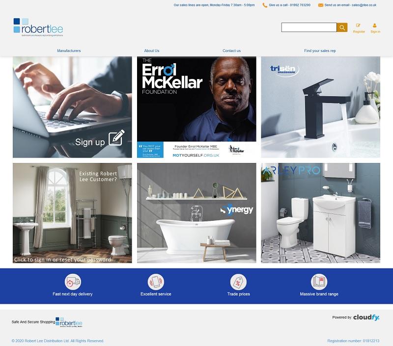 Robert Lee's B2B Supply Website
